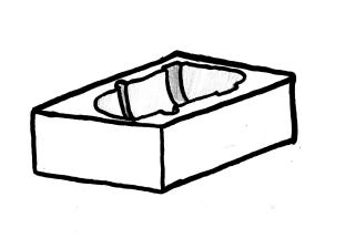 yksiosainen silikonimuotti 5